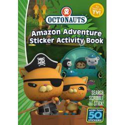 Octonauts, Amazon Adventure Sticker Book by Simon and Schuster UK, 9781471120657.