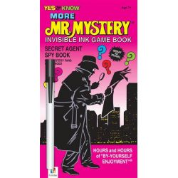 More Mr Mystery Invisible Game Book, Mr Mystery, 9781743522943.