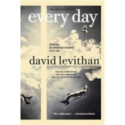 Every Day by David Levithan, 9780307931894.