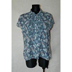 bluzeczka mgiełka, falbanki, łączka, EDITIONS (XL)