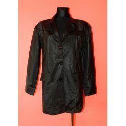 płaszcz z błyszczącego materiału (L)