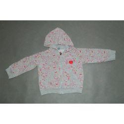 Bluza z suwakiem i kapturem (1,5 - 2 lata)