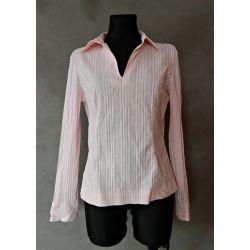 bluzka w paski, kołnierzyk,  NEXT (L/XL)