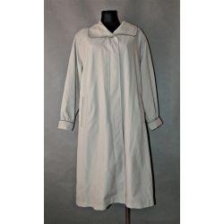 beżowy płaszcz MICRO SETA (L/XL)