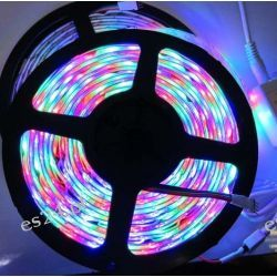 Taśma LED 5050 RGB 5m/300diod  IP68