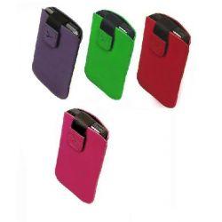 Etui na telefon zamsz S8530 Wave II, iPhone 5