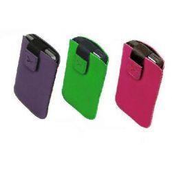 Etui na telefon zamsz S5830 Galaxy Ac w 3 kolorach