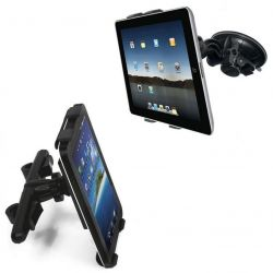 Uchwyt samochodowy do tabletów z dwoma mocowaniami