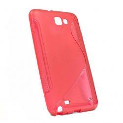 Etui Rubber na Samsung Galaxy Note - czerwone
