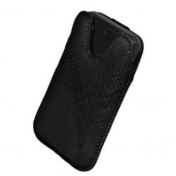 Etui na telefony Milano Lumia 800, One X - czarne