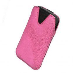 Etui na telefony Milano S5830 Galaxy Ace - różowe
