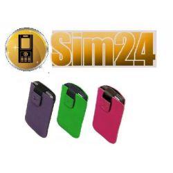 Etui zamszowe na Samsung: S5570 Galaxy Mini