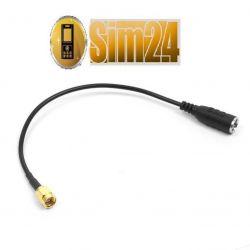 Konektor antenowy FME-m / SMA-m - Huawei: B683, B5