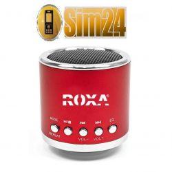 Przenośny głośnik zewnętrzny z MP3 i radiem - czer