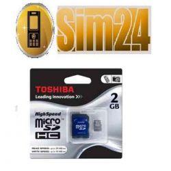 TOSHIBA karta pamięci micro SD 8GB + 1AD SDHC Clas