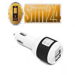 Ładowarka samochodowa ROXA 2 x USB 2.1 A + 1 A