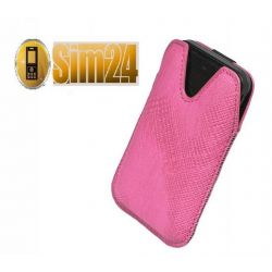 Etui na telefony Milano E52, Asha 206 - różowe