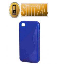 pokrowiec na Nokia 510 LUMIA niebieski
