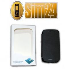 Flip Cover Samsung GALAXY ADVANCE/i9070/blac /blis