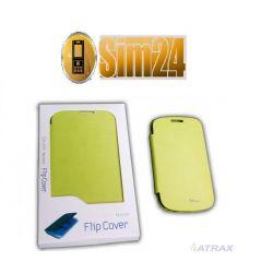 Flip Cover Samsung GALAXY ADVANCE/i9070/gree /blis