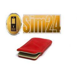 Etui skóra Samsung:  I8190 Galaxy S III mini