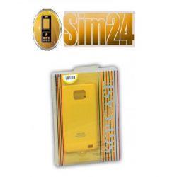 SGP CASE SAM i9000/GALAXY S - żółty /yellow