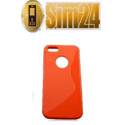 pokrowiec na Nokia 510 LUMIA pomarańczowy