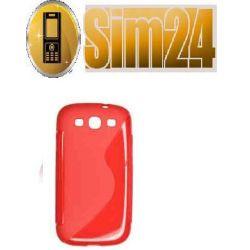 pokrowiec na LG L3/E400 czerwony