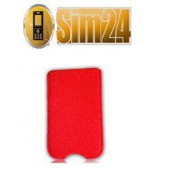 Wsuwka FILC SAMSUNG S5610 czerwony