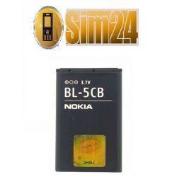 Bateria NOKIA BL-5CB ORIGINAL/BULK 1616/1800/C1-02