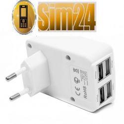 Ładowarka sieciowa ROXA 4in1 2.1A
