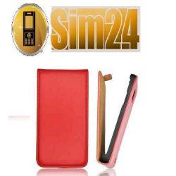 Kabura VISION Samsung S7710 XCOVER 2 czerwona