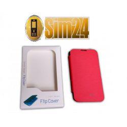 Flip Cover Samsung NOTE 2/N7100/red /bliste