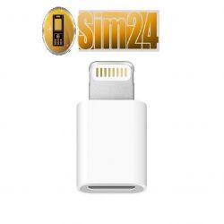 Przejściówka - adapter z micro USB na iPhone 5