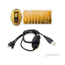 Kabel USB NOKIA CA-126 ORIGINAL/BULK podwójny kabe