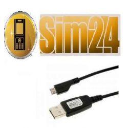 Kabel USB SAM APCBU10 ORIGINAL/BULK i8510/G810/i80