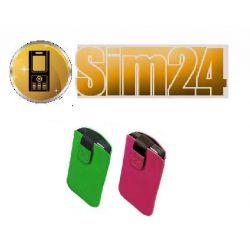 Etui na telefon zamsz Samsung: Ch@t 335, i900 Omni