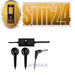 Słuchawki/HF LG 3744 3,5mm ORIGINAL/BULK BL40/P350