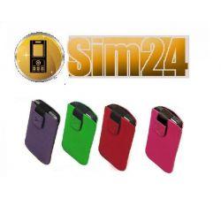 Etui na telefon zamsz Samsung: S5300 Galaxy Pocket