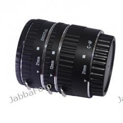 Pierścienie pośrednie makro AUTO do Nikon - z przeniesieniem automatyki