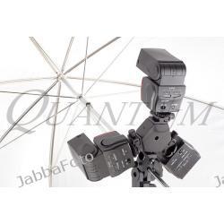 Quantuum BK-6 uchwyt do 3 lamp systemowych