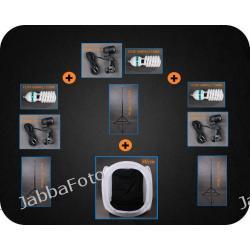 F&V Zestaw oświetleniowy bezcieniowy - 3x600W + namiot 80cm -ZP2