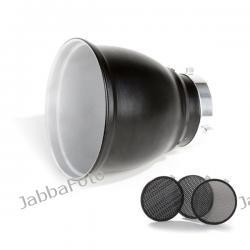Bowens Reflektor 60° + 3 plastry miodu 20° 30° 40° BW1865