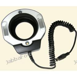 Tumax DMF-880 + lampa macro Canon EOS