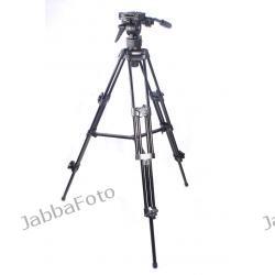 FT-9901 Profesjonalny statyw video 137cm z głowicą olejową
