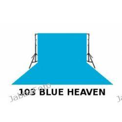 Tło fotograficzne kartonowe 2,72 x 11 m Kolor 103 BLUE HEAVEN