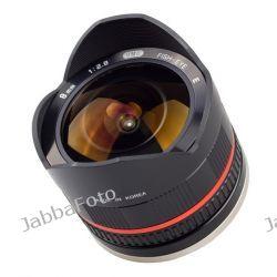Samyang 8mm f/2.8 UMC Fish-eye do SONY NEX Czarny