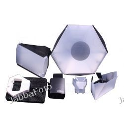Zestaw do lampy błyskowej Snoot Beauty Dish Softbox 5w1
