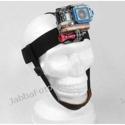 Head Strap Mount uchwyt na głowę do GoPro HERO + mocowanie podbródkowe zamiennik GHDS30