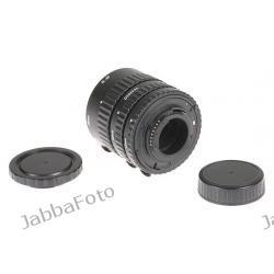 Pierścienie pośrednie 13mm 21mm 31mm do aparatów z bagnetem Nikon wersja ECO